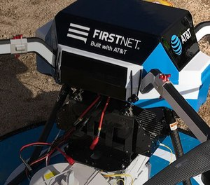 FirstNet allows first responders to connect at a speed 25% faster than commercial networks and provides consistency and reliability during times when communication is crucial, according to the press release. (Photo/AT&T)