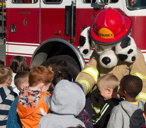 """In 1947, President Harry S. Truman called for a National Conference on Fire Prevention due to the continued increase if loss of life and property from fire. From this conference grew the national fire administration, smoke alarms, even """"Sparky"""" the fire dog, among other innovative programs. (Photo/Wikimedia Commons)"""