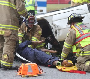 """What we commonly refer to as """"combi-tools"""" in the world of auto extrication are an example of firefighter tool efficiency. (Photo/USAF)"""