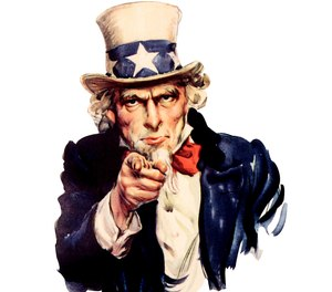 It's an appropriate time to talk about grant seekers that confuse Uncle Sam, the personification of the American government, with Santa Claus. (Photo/Wikipedia)